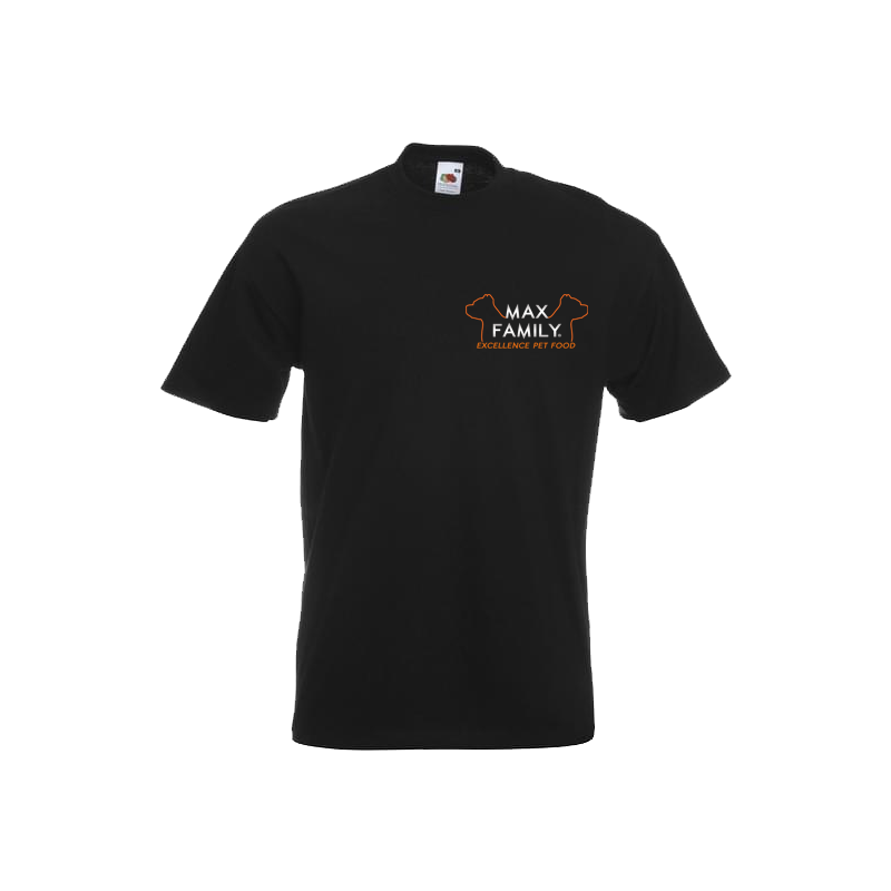 T-shirt / coupe droite / mixte / MAX FAMILY Excellence Pet Food