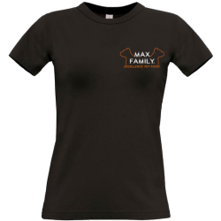 T-shirt femme MAX FAMILY Excellence Pet Food