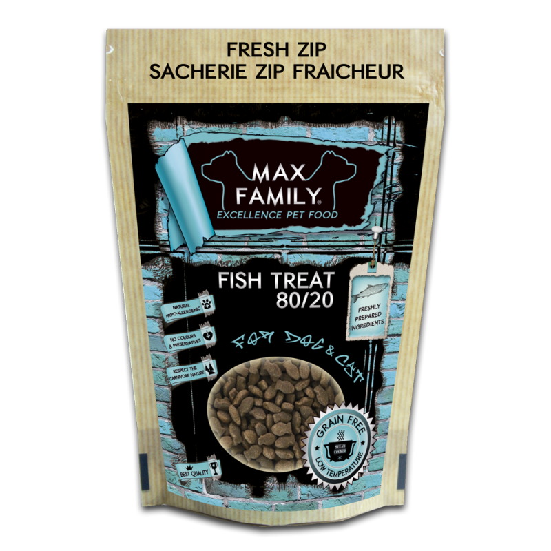 Fish Treat GRAIN FREE 100g by MAX FAMILY Excellence Pet Food