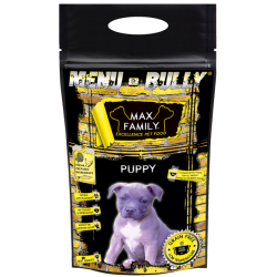 Echantillon Menu BULLY Puppy - by MAX Family 100g