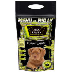Echantillon Menu BULLY Puppy Large -  by MAX Family 100g