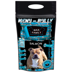 Echantillon Menu BULLY Salmon - by MAX FAMILY 100g