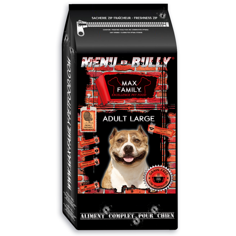 Menu BULLY Adult Large - by MAX FAMILY 12kg