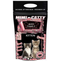 Menu CATTY Kitten by MAX FAMILY 2,5kg