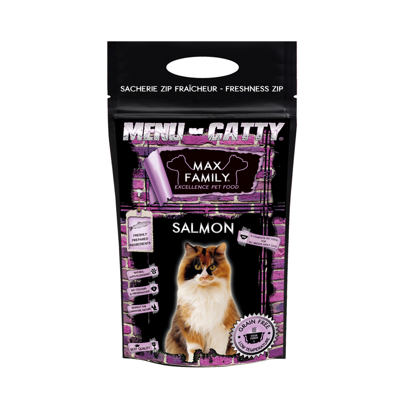 Menu CATTY Salmon - by MAX FAMILY 2,5kg
