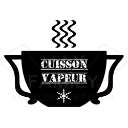 Cuisson VAPEUR DOUCE croquette MAX FAMILY PET FOOD