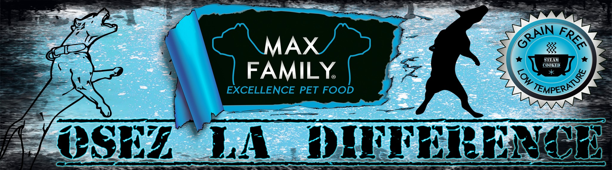 OSEZ LA DIFFERENCE - MAX FAMILY